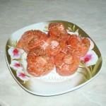 Как делать розочки из рыбы - фото и рецепт салата