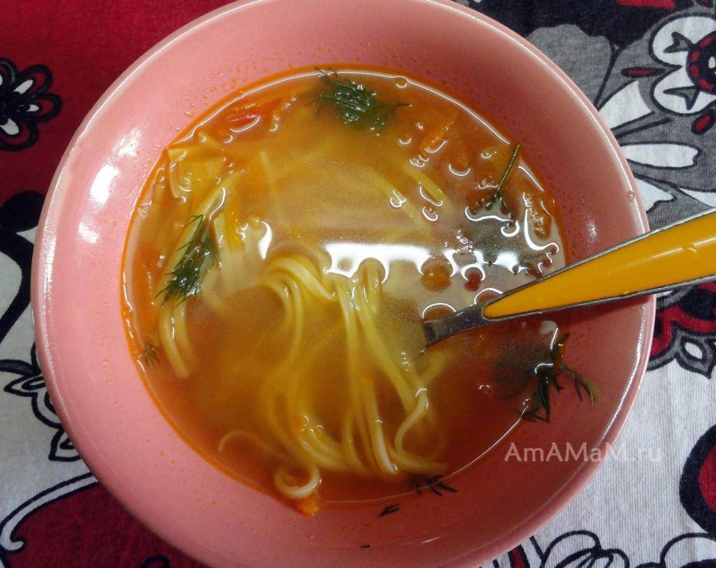 Что приготовить на обед - рецепт супа-лапши