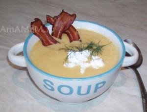 Рецепт супа-пюре из кабачков