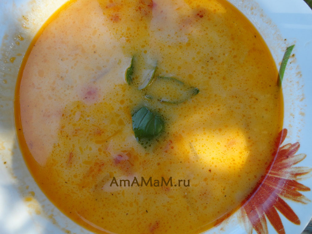 Что приготовить из кабачков - рецепт вкусного супа