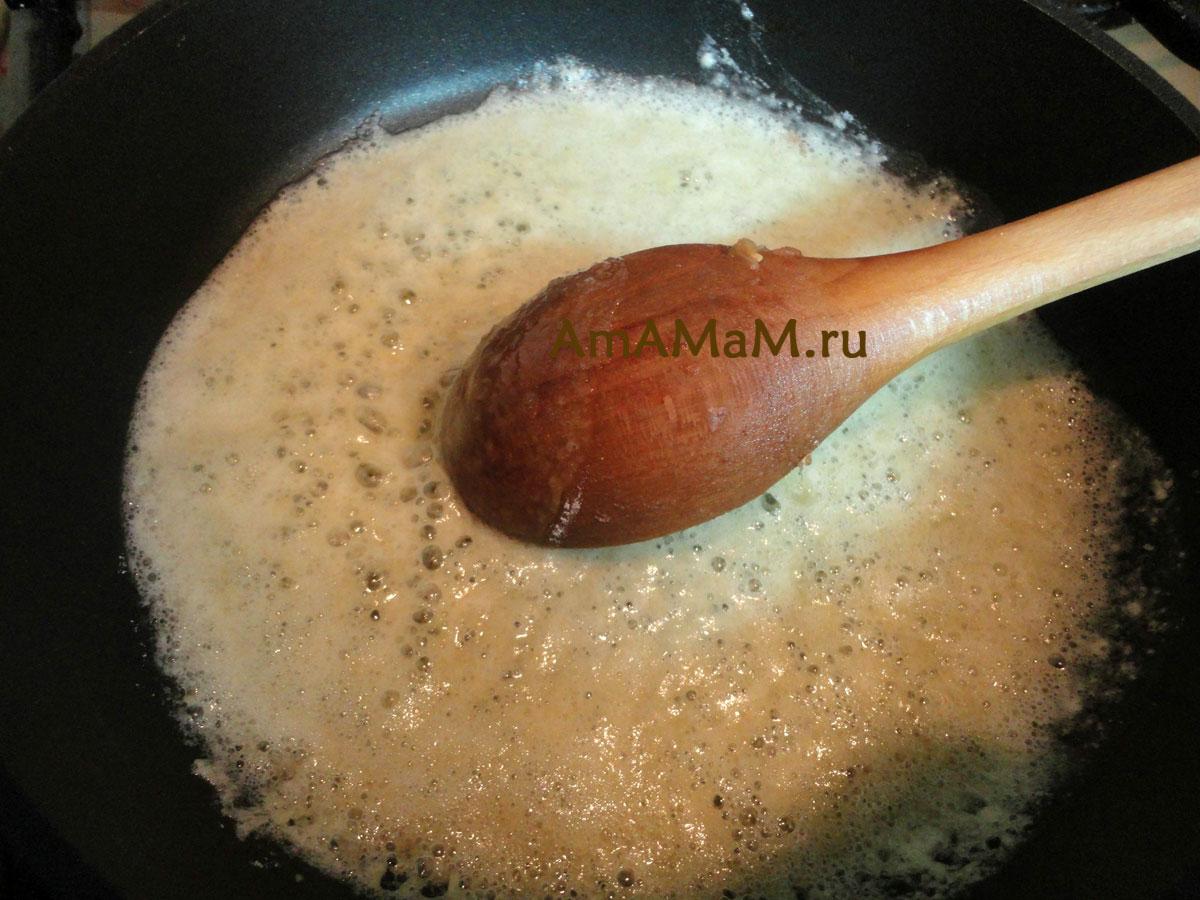 Рецепт белого соуса пошагово