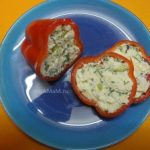 Перцы фаршированные сыром