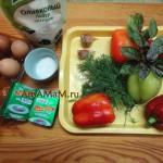 Сырный салат в болгарском перце - рецепт и фото закуски из колечек фаршированного перца