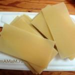 Простой рецепт лазаньи