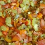 Рецепт начинки лазаньи из овощей
