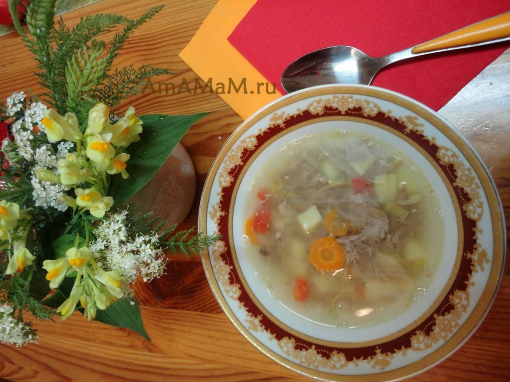 Из чего сварить дешевый и вкусный суп - рецепт супа из утиных шей