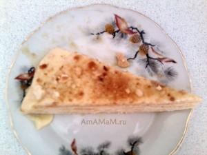 Рецепт торта Нежность - заварной крем и коржи