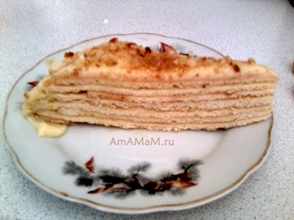 Как испечь торт Нежность - рецепт и фото