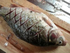 Караси  - костлявая рыба