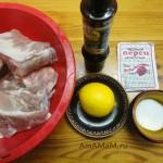 Приготовление ребрышек в соево-лимонном маринаде