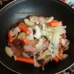 В какой очередности класть овощи в сковороду