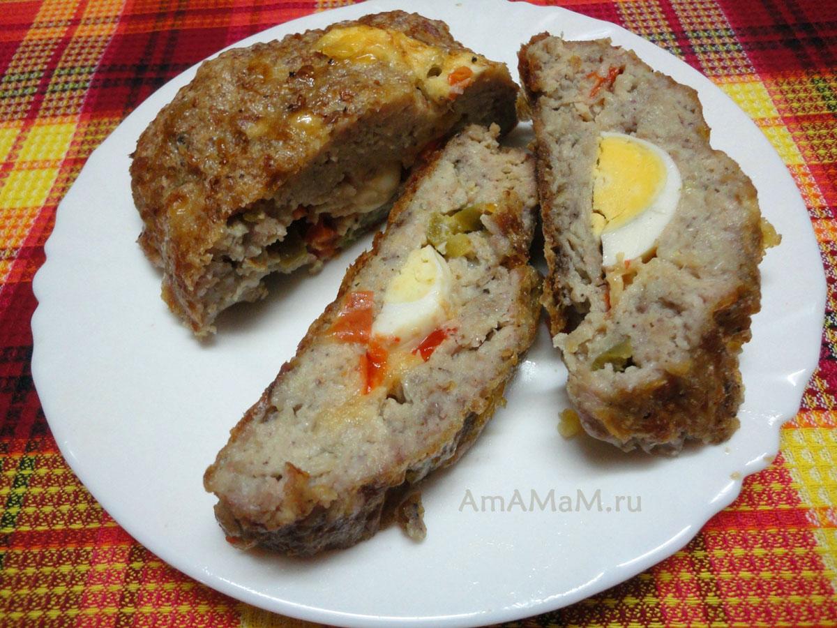 Рулет с яйцом в духовке рецепт пошагово