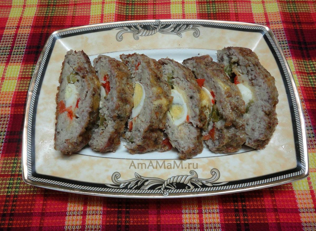 простые рецепты мясных рулетиков