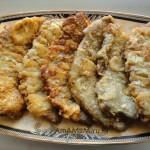 Рецепт шницелей в сыре и яйце