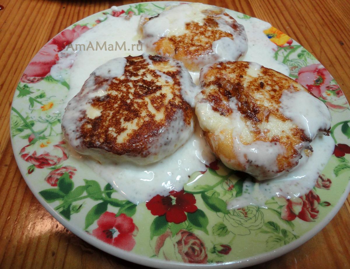 Сырники с медом из творога рецепт пошагово