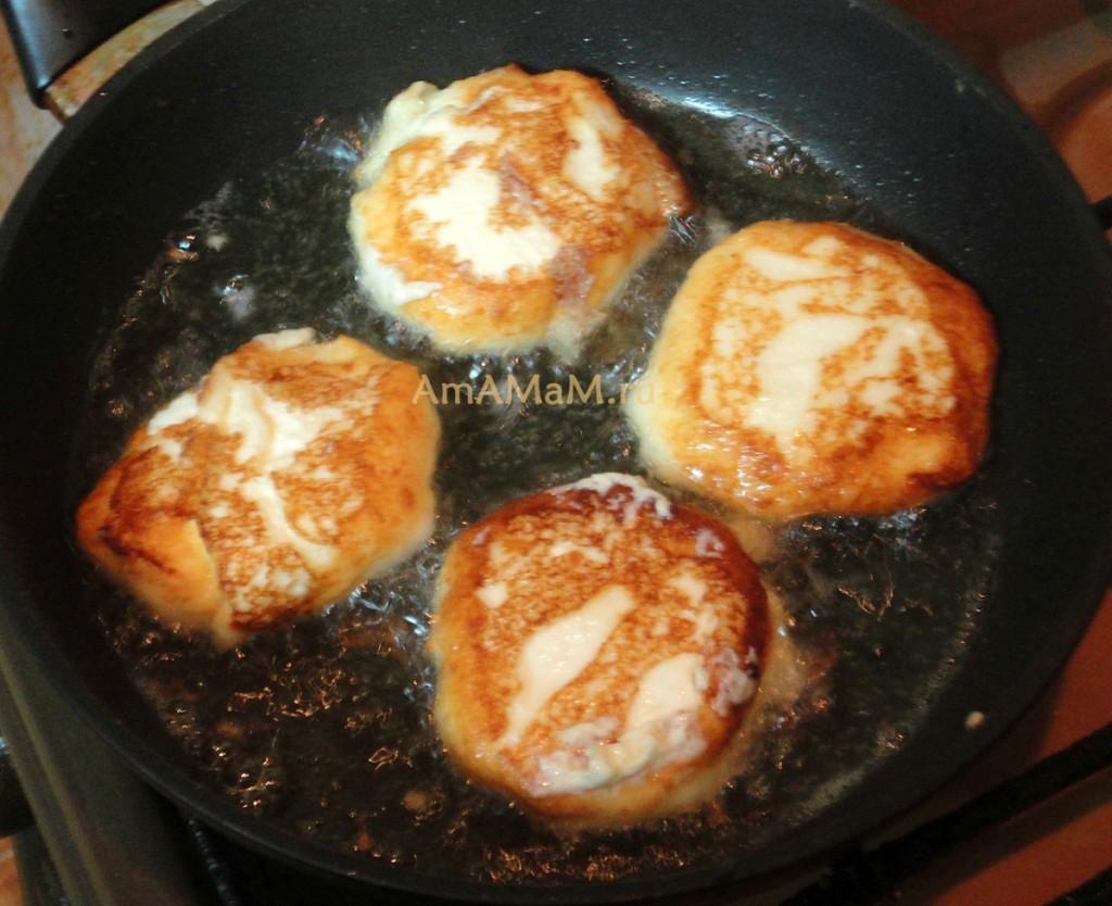 Рецепт сырников из творога, без манки