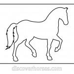 Как правильно нарисовать лошадь - рисунок