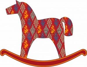 Как нарисовать лошадь - упрощенный рисунок