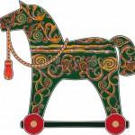 Красивые игрушечные лошадки- фото