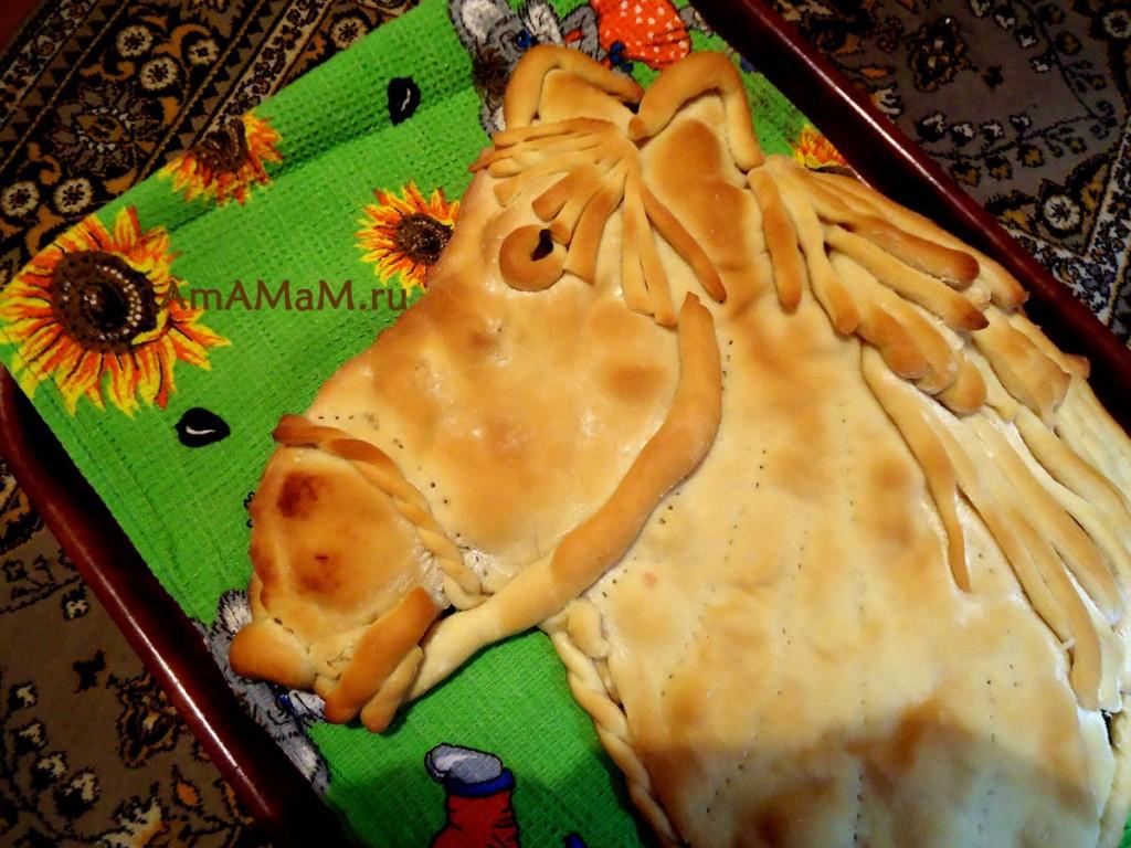 салат лошадь пошаговый фото рецепт