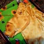 МК - пирог Лошадь, пошаговые фото