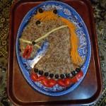 Необычные новогодние блюда - рецепты