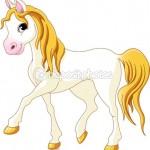 Как нарисовать игрушечную лошадь