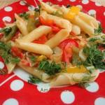 Что приготовить из макарон с овощами