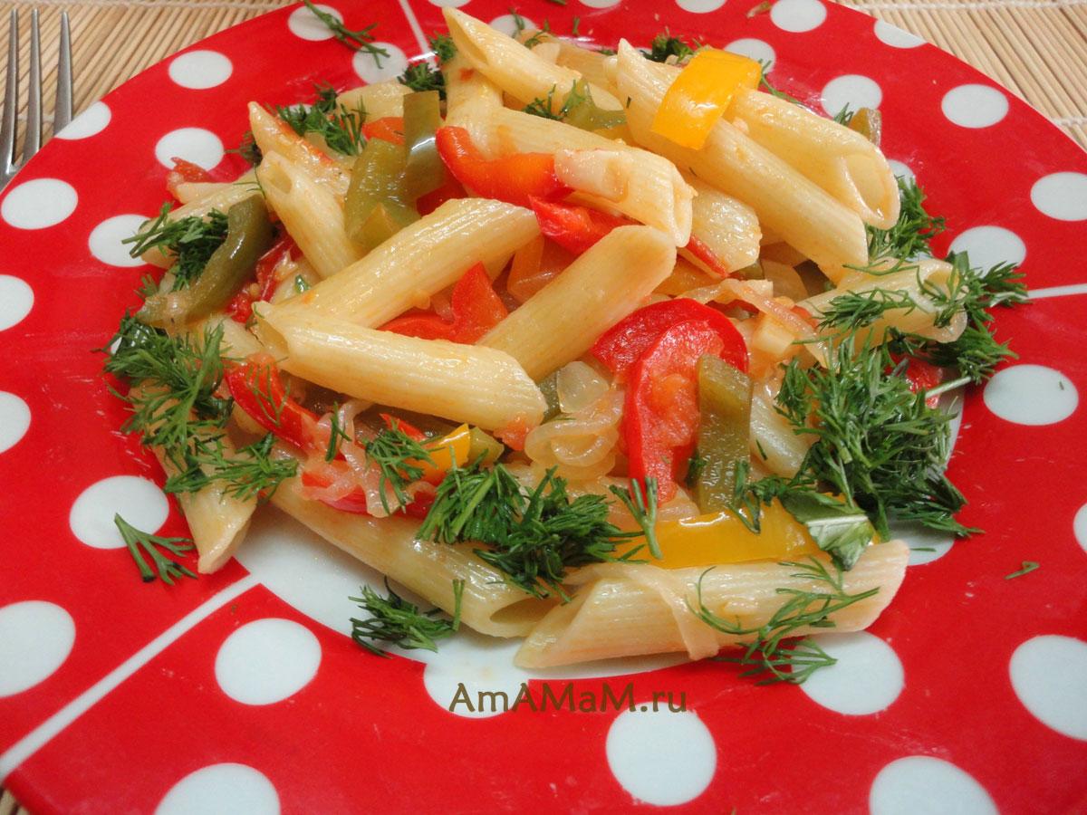Блюда с макаронами рецепты самые простые и вкусные пошаговые