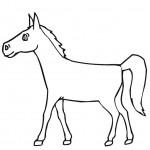 Способ рисования лошади