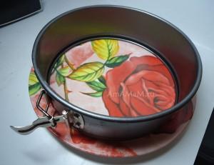 Как сделать круглый слоеный салат - фото