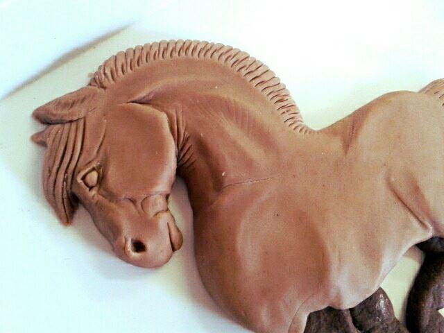 Как сделать красивую лошадку-печенье