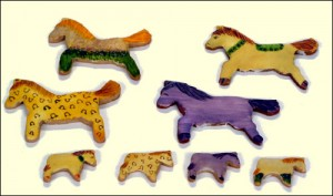 Печенье-лошадки