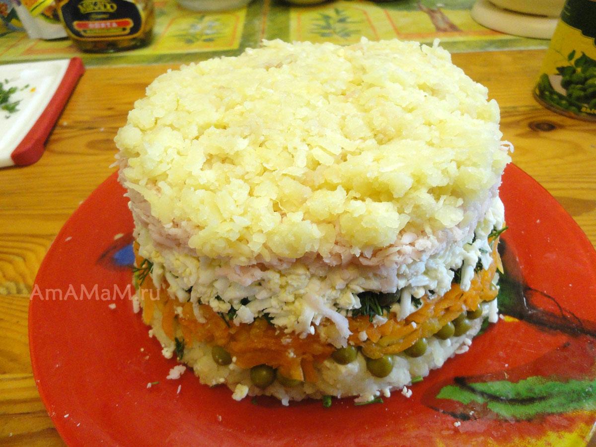 Рецепт праздничные салаты для детей