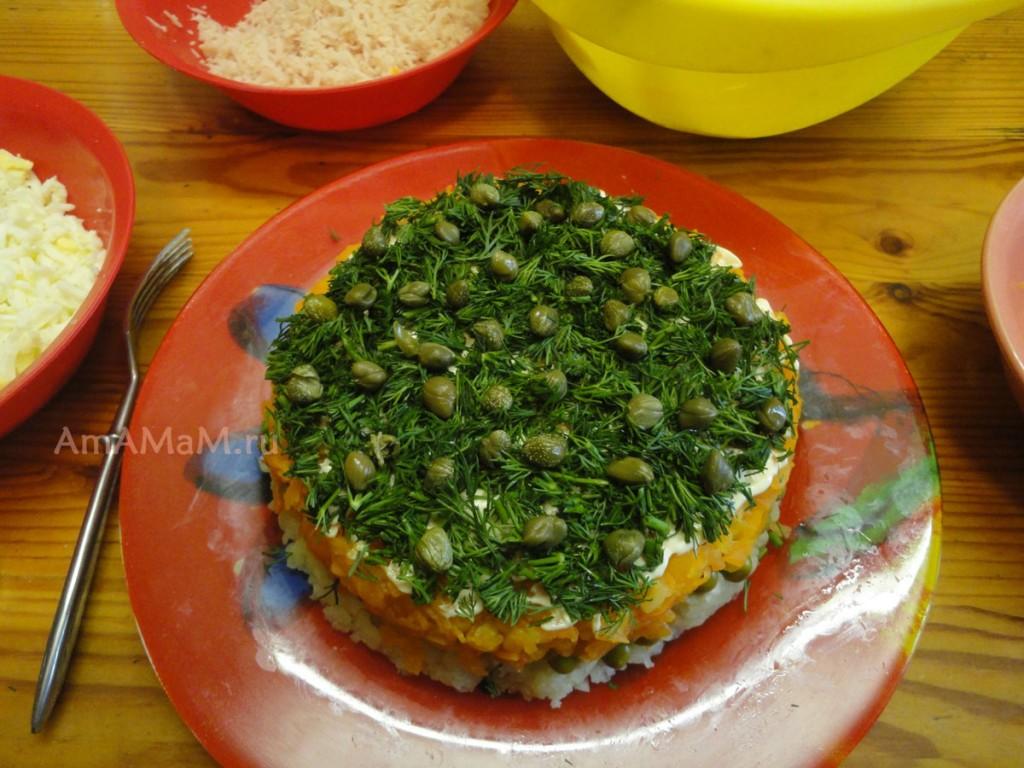 Как сделать салат с каперсами
