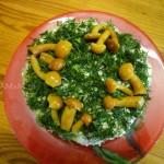 Рецепт вкусного салата из простых продуктов на Новый годи, День рождения или другой праздник