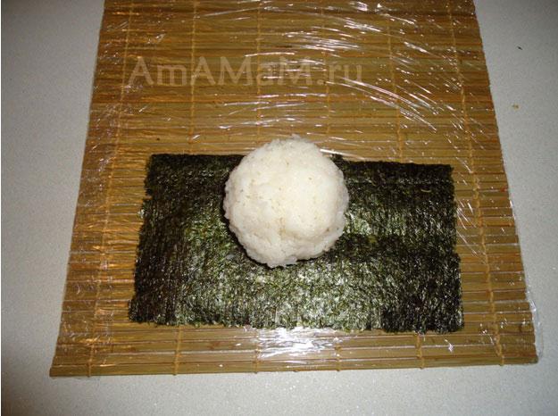 Как приготовить суши и роллы - рецепт из ресторана японской кузхни