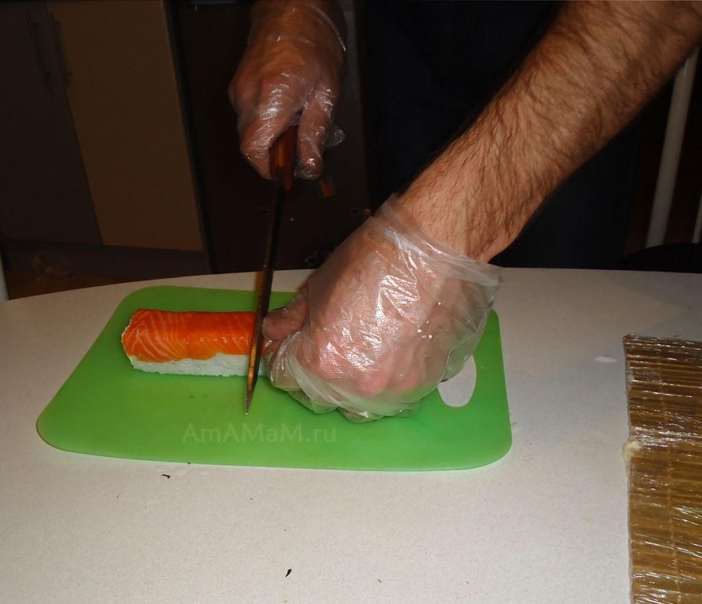 Приготовление роллов в домашних условиях
