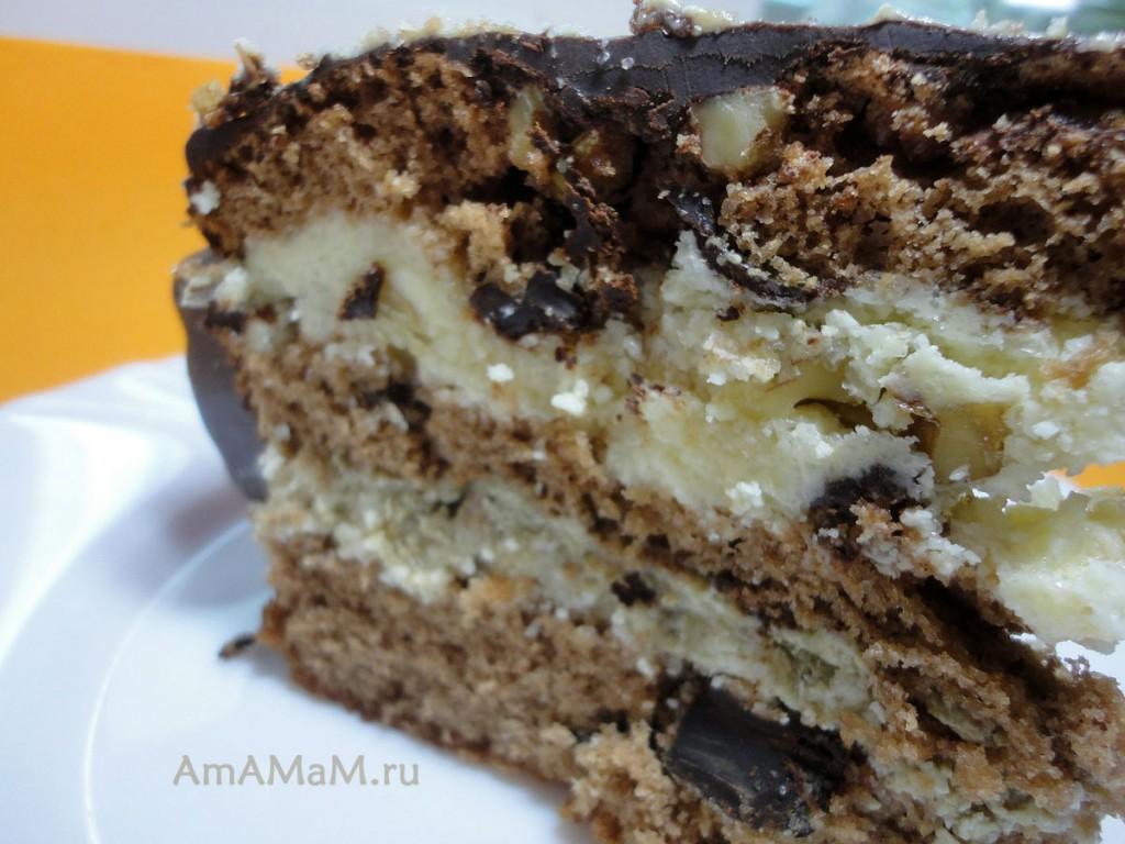 Домашние торты - рецепты