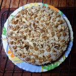 Рецепт торта с халвой и орехами