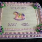 Как украсить обычный торт лошадками
