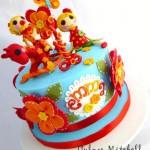Как декорировать детский торт - фото