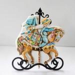 Как сделать красивые украшения на торт с лошадьми