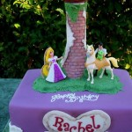 Торт из мастики с принцем на коне
