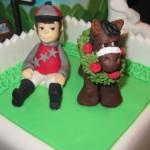 Сюжеты для тортов с лошадьми
