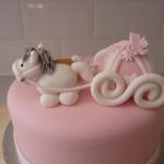 Как сделать торт из мастики маршмеллоу с конями