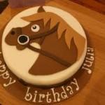 Как сделать прикольную лошадку на торт - идеи