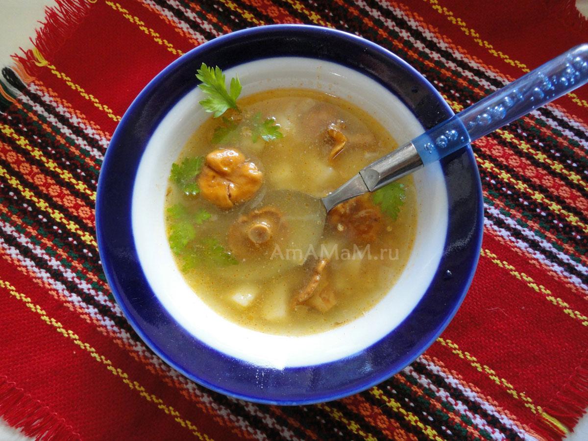 Суп из кальмаров  пошаговый рецепт с фото на Поварру
