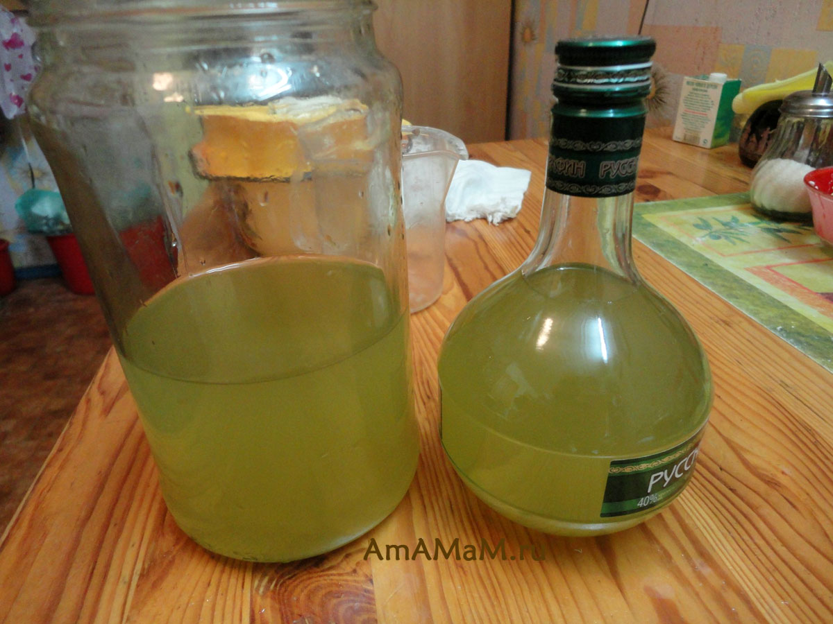 Наливки, настойки на водке 49