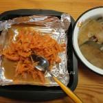 Треска с овощами - рецепт для стейков